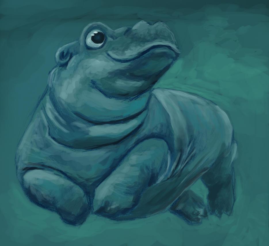 Fiona the Hippo by Jackomack