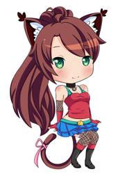 Commish : Saiya by Rainbowshi