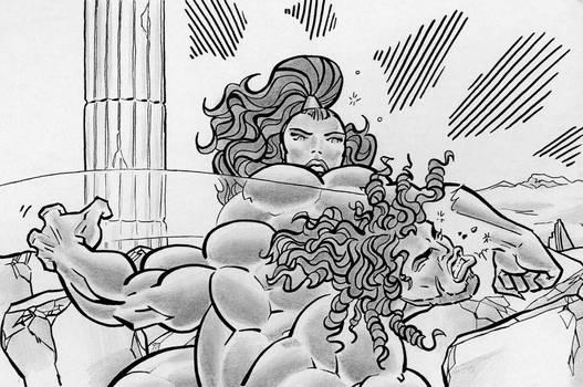 Hercules vs. Hippolyta