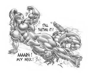 Hypolyte meets Achyle - 13b by Musclelicker