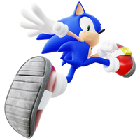 [Blender] Sonic does the running thing