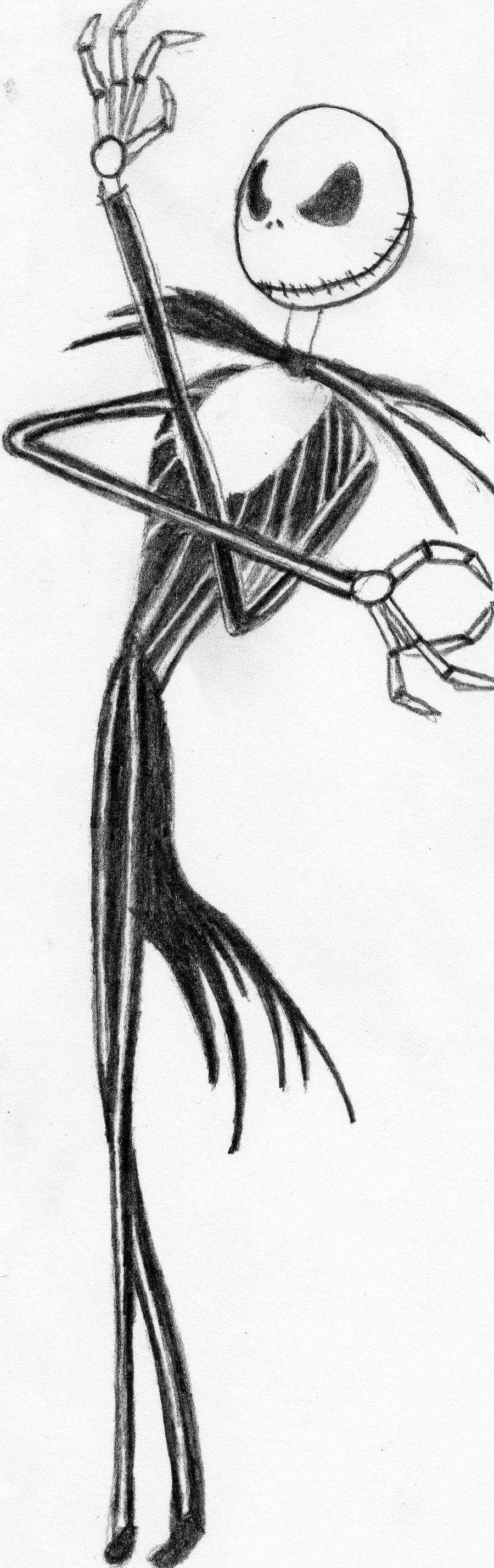 Jack skellington colouring pages page 2 - Nightmare Before Christmas Coloring Pages Jack Nightmare Before Christmas Coloring Page