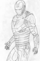 Iron Man by alias-kanas