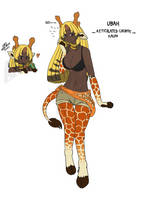 Ubah, Reticulated Giraffe by PurpleKama