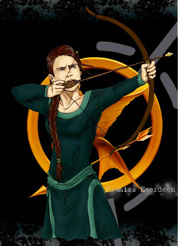 Katniss Everdeen by eeri-wiatt