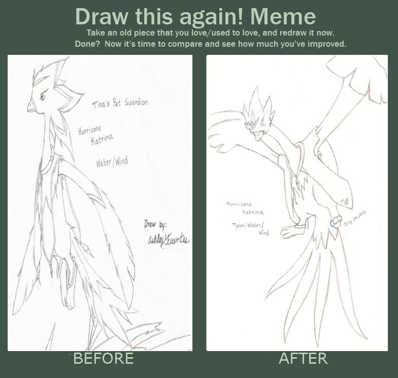 meme before and after Hurricane Katrina by AuraMana on