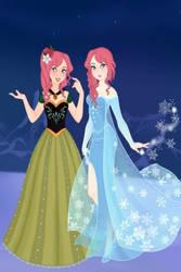 Farron Sisters Frozen Style by Sonnflora