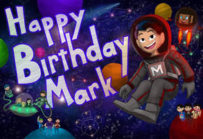 Happy Birthday Mark | Markiplier by Mooshrom45