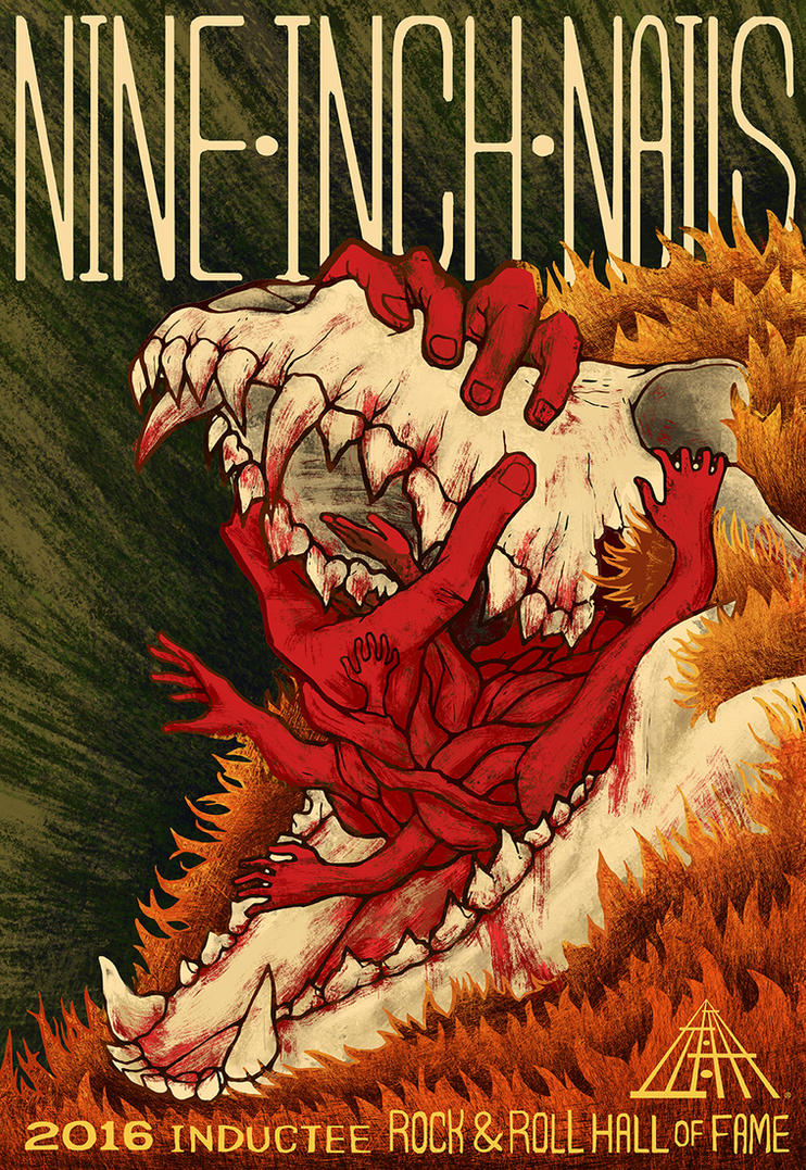 Nine Inch Nails Poster by ShesscaMayWiver on DeviantArt