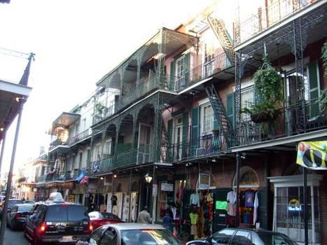 buildings and balconies
