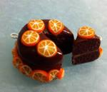 +choco orange cake+