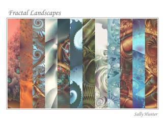 Calendar: Fractal Landscapes by SalHunter