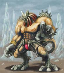 Dragonfighter's sketch