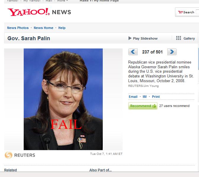 Sarah Palin by morningstar-photogs