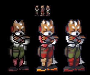Fox Mccloud SFF2 by RicochetWolf