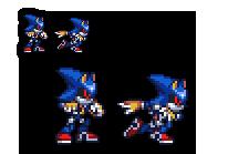 Hyper Metal Sonic by RicochetWolf