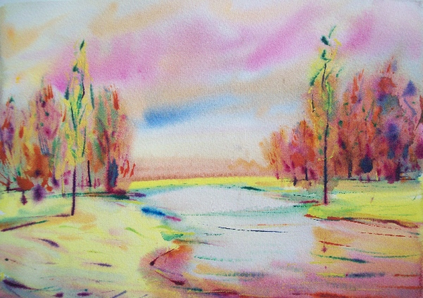 Possible joy of autumn by Lukyanovart