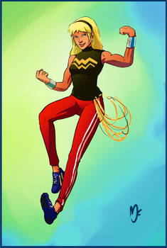Young Justice Wonder Girl