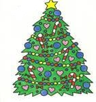 o christmas tree by sblack2319