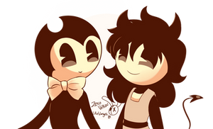 [Art-Trade] Bendy And Candy