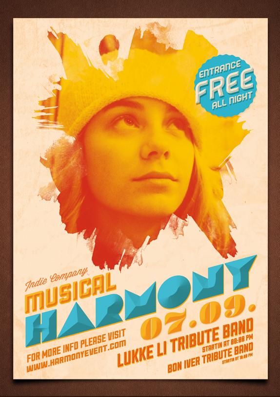 Alternative Flyer/Poster PSD Template by moodboy
