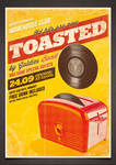 Toasted - Vintage Poster PSD Template