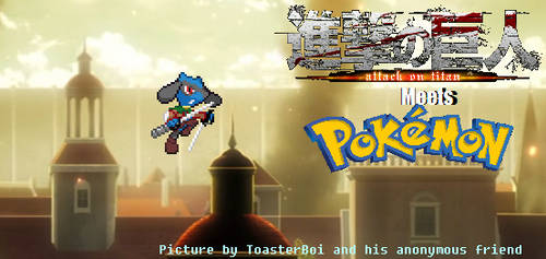Riolu in Attack on Titan?! by ToasterBoi