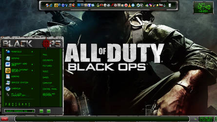 Black Ops Windows 7 Visual Sty