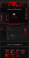 Virus Windiws 7 Visual Style by pauliewog260