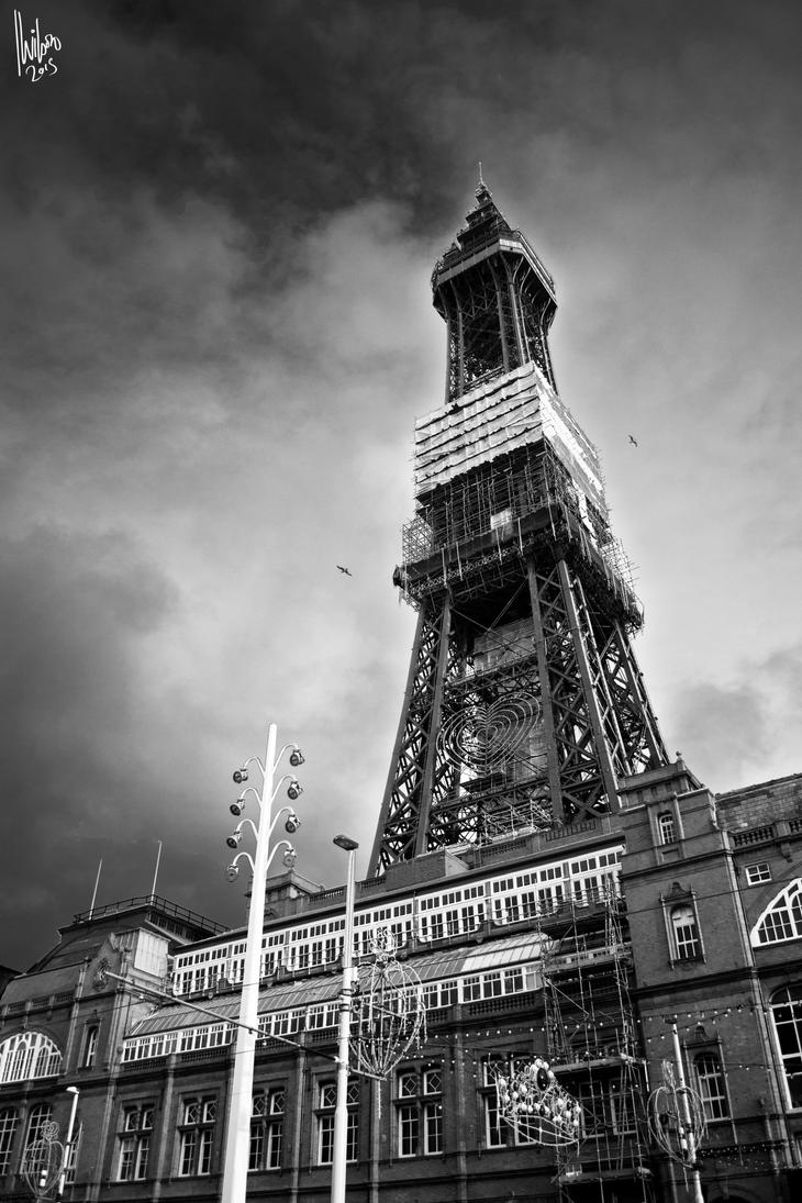 Blackpool Tower by TheOfficialWils