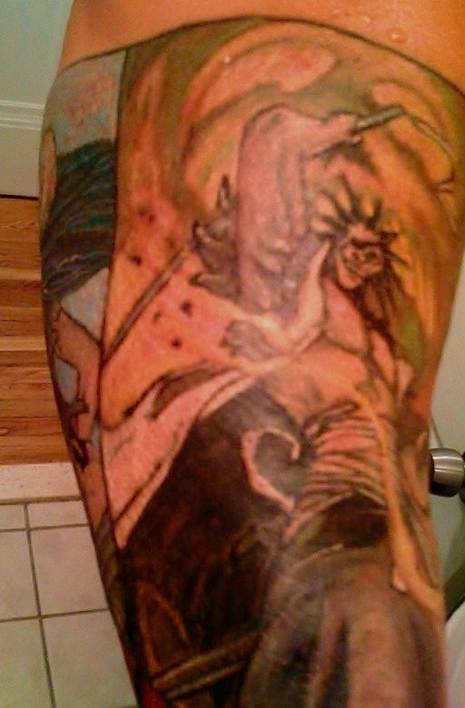 bleach tattoo done by andee 5 by ~b2nohor71 on deviantART