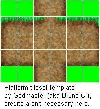 platform tileset template by campestre on deviantart
