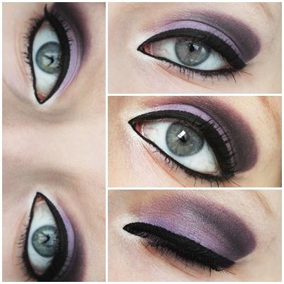 makeup purple time by ViivaVanity