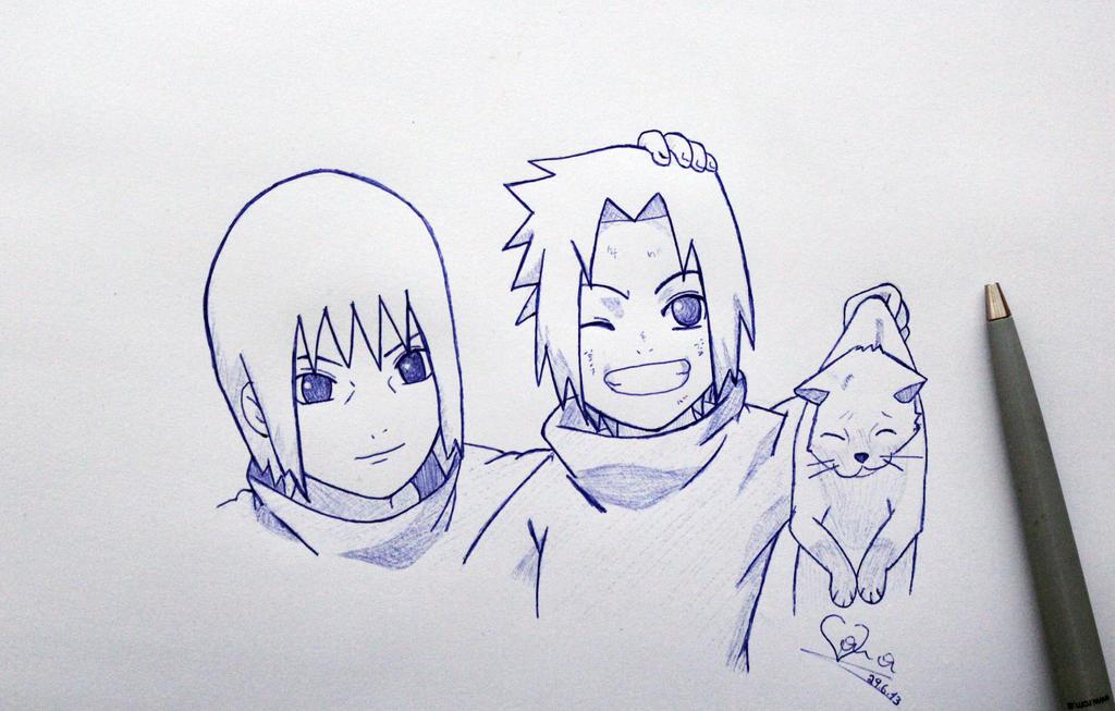 Itachi Drawings In Pencil