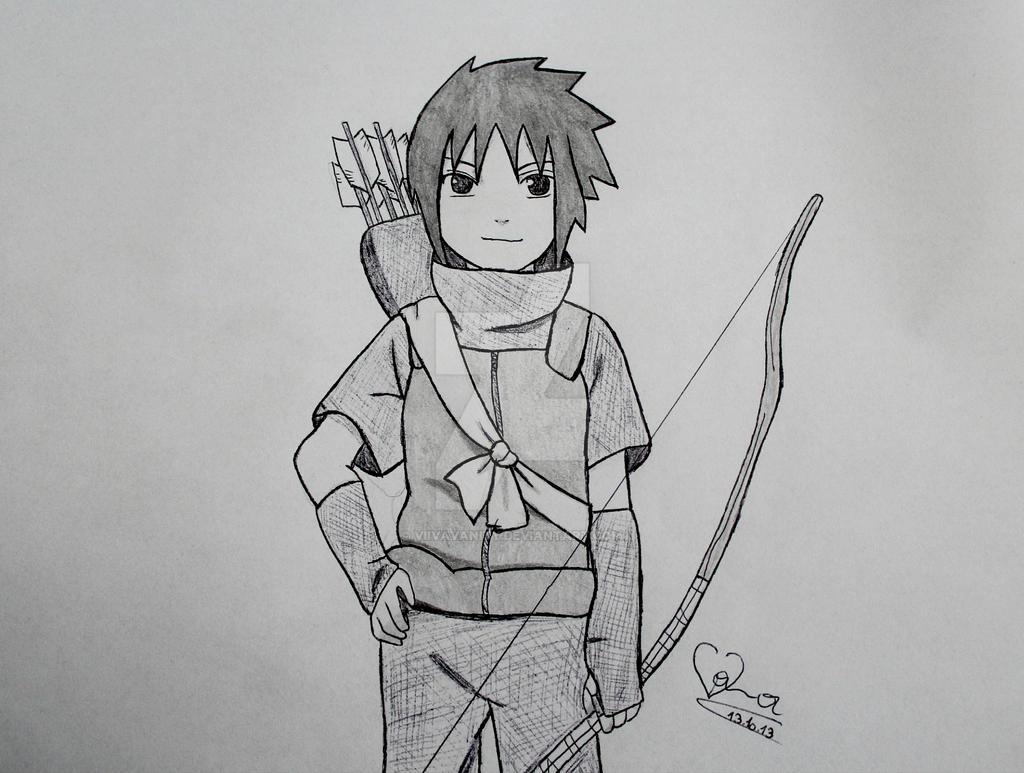 Sasuke Lineart : Sasuke little favourites by princes night on deviantart