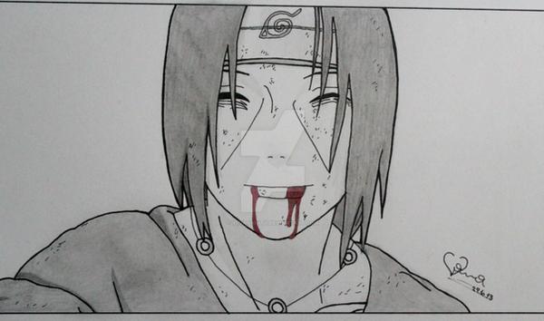 Itachi sketch by Viiva...