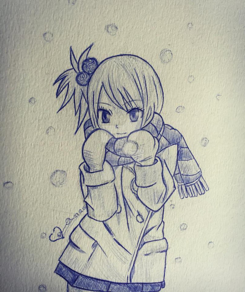 Lucy Heartfilia Sketch by ViivaVanity