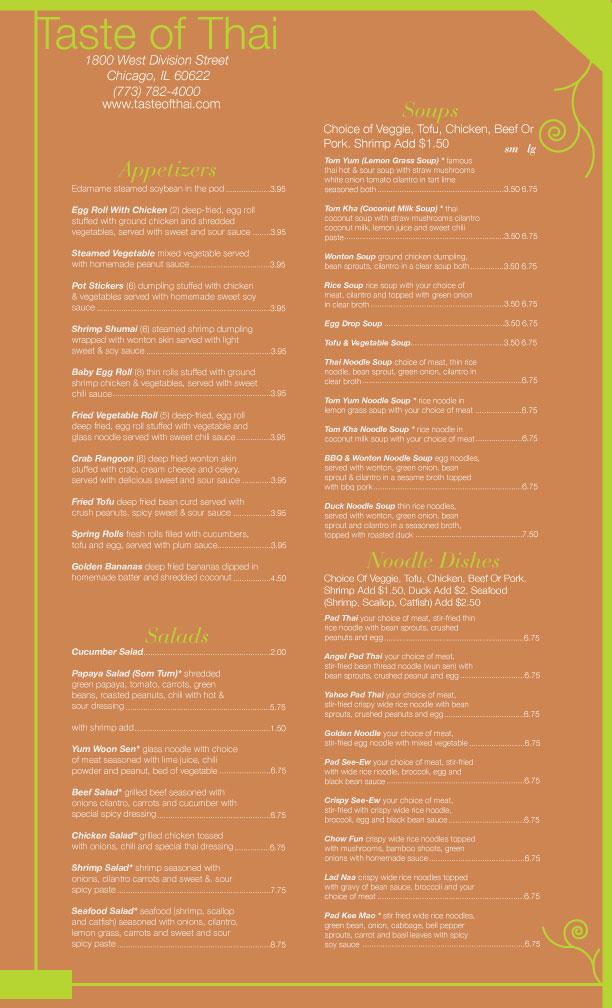 Thai restaurant menu design by jedi141gamer on deviantart for Artistic cuisine menu