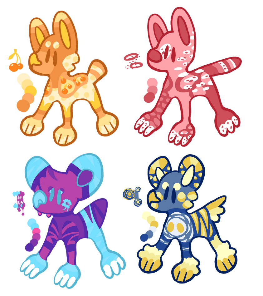 Mix Of Colours - ADOPT (4/4 OPEN)