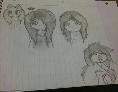 random sketches  by amysonicforever