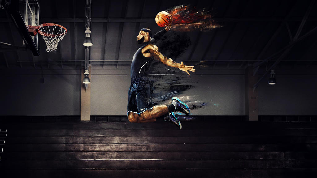 Lebron james wallpaper hd live cavs dunking asiancinemaub lebron voltagebd Image collections
