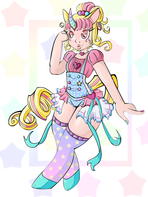 Magical Horse girl by rugdg13