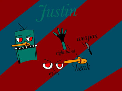 Justin by Pinkwolfly