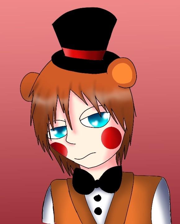 Toy Freddy by Pinkwolfly