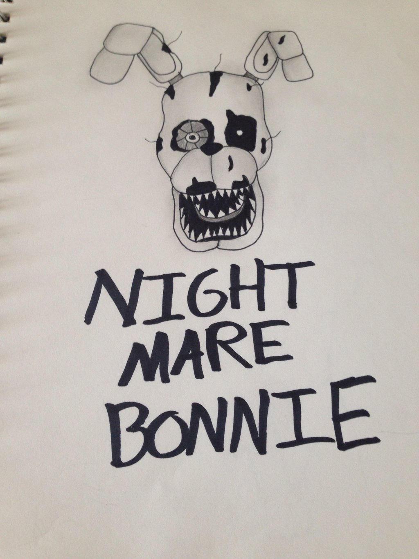 Nightmare Bonnie  by Pinkwolfly