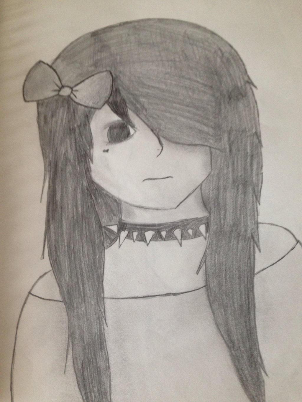 Emo girl by Pinkwolfly