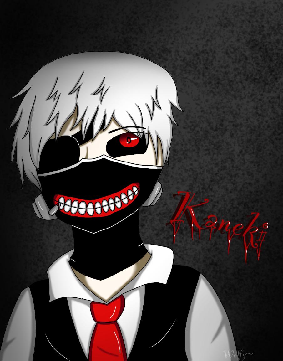 Kaneki by Pinkwolfly