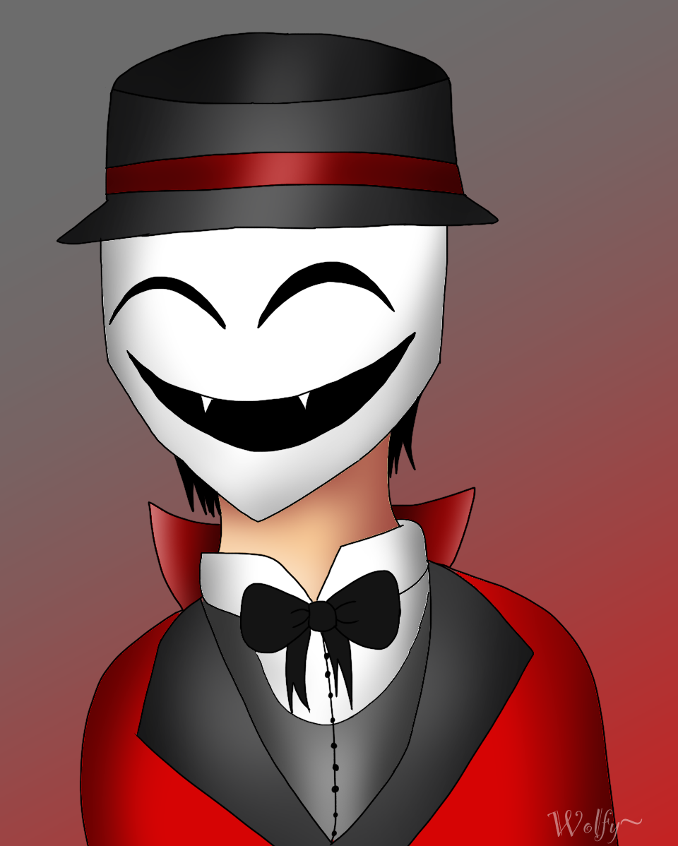 Ringmaster happy by Pinkwolfly