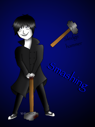 Smashing  by Pinkwolfly