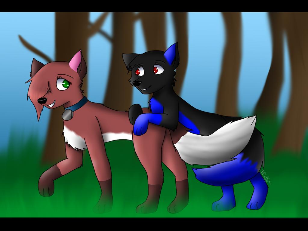 Having an adventure  by Pinkwolfly